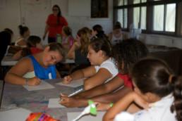 art at summer camp