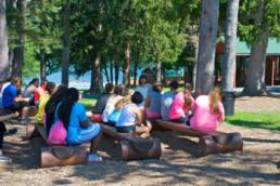 benches at weight loss camp