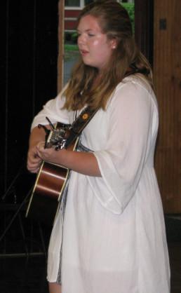 guitar at weight loss camp