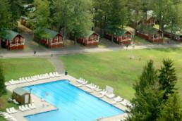 pool at weight loss camp