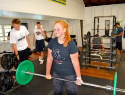 weights at fat camp