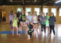 dance at weight loss camp