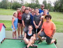 miniature golf weight loss camp