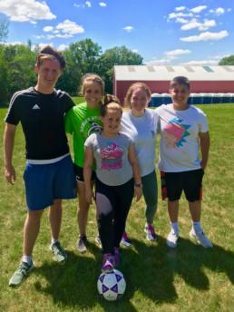 soccer at fat camp