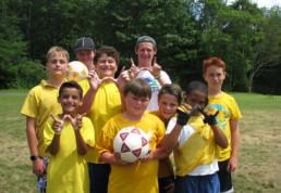 soccer at weight loss camp