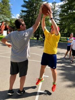 weight loss camp basketball