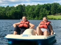 boat weight loss camp